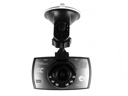 Rejestrator samochodowy Green Cell Full HD 1080p z trybem nocnym