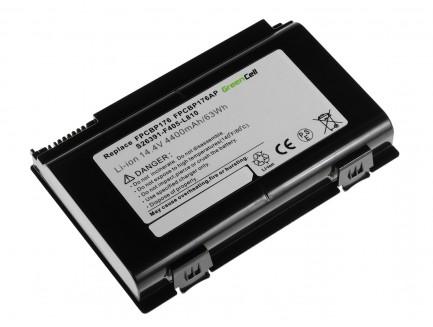 Bateria Green Cell FPCBP176 do Fujitsu LifeBook E8410 E8420 E780 N7010 AH550 NH570