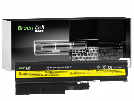 Bateria akumulator Green Cell do laptopa Lenovo IBM Thinkpad R500 SL400 SL500 42T4511 10.8V 6 cell
