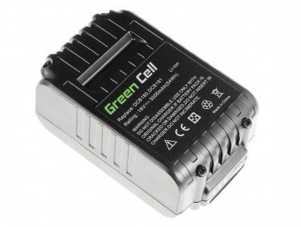 Bateria Akumulator Green Cell do Dewalt DCB184 DCB182 DCB180 18V 3Ah
