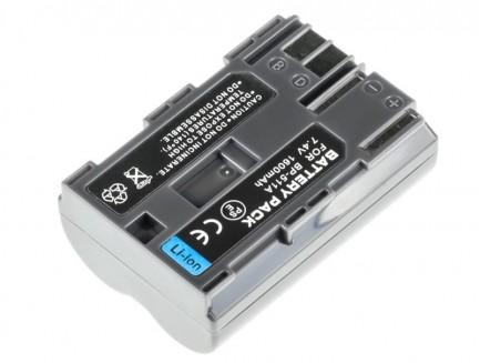 Bateria akumulator Green Cell do Canon EOS 5D 10D 20D 30D 40D 50D 7.4V 1600mAh