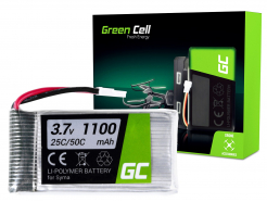 Bateria Akumulator Green Cell do Syma X5SC X5SW Explorers 3.7V 1100mAh