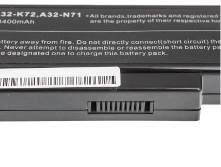 Bateria Green Cell A32-K72 do Asus K72 K73 N71 N73 10.8V 6 cell