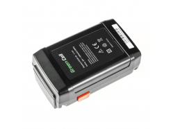 Bateria Akumulator (4Ah 25V) 8838 8838-20 8838-U 8838U 4025 4025-20 Green Cell do Gardena 380LI 380EC 4025-20 4028-20