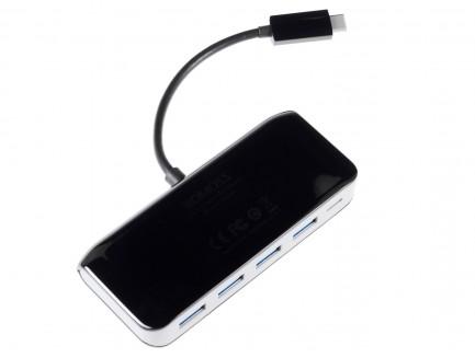 Adapter HUB Romoss CH08C4A USB-C Multiport (4xUSB-A 3.0, USB-C)
