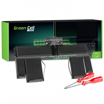 Bateria Green Cell PRO A1437 do Apple MacBook Pro 13 A1425 (Late 2012, Early 2013)