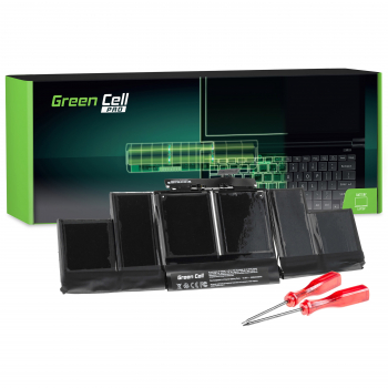 Bateria Green Cell PRO A1417 do Apple MacBook Pro 15 A1398 (Mid 2012, Early 2013)