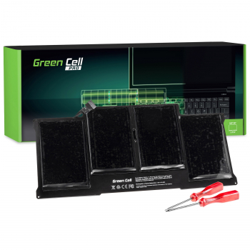 Bateria Green Cell PRO A1377 A1405 A1496 do Apple MacBook Air 13 A1369 A1466 (2010, 2011, 2012, 2013, 2014, 2015, 2017)