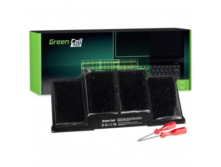 Bateria Green Cell PRO A1377 A1405 A1496 do Apple MacBook Air 13 A1369 A1466 (2010, 2011, 2012, 2013, 2014, 2015)