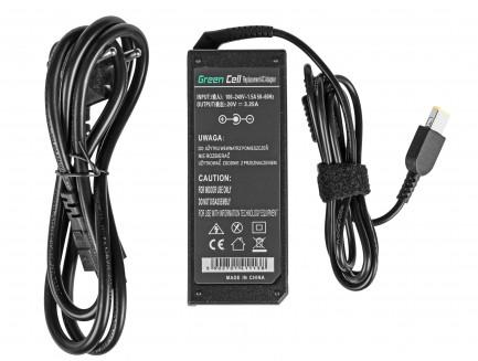 Zasilacz Ładowarka Green Cell do Lenovo IdeaPad Yoga 13 G50 G50-30 G50-70 G500 G505 G700 ThinkPad P40 X1 20V 3.25A
