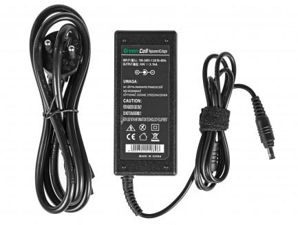 Zasilacz Ładowarka Green Cell do Samsung R519 RV510 R719 GT9000 Pro Q35 Pro NP300E5A 19V 3.16A