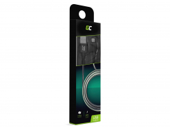Kabel Przewód Green Cell Lightning-USB do Apple iPhone Nylon 1m