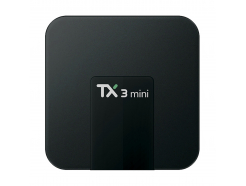 Prapremiera! TV Box TX3 mini (2GB RAM, 16GB eMMC, 4x1.5GHz, Android 7.1 Nougat)