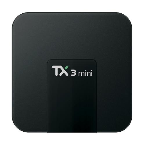 Prapremiera! TV Box TX3 mini (2GB RAM, 16GB eMMC, 4x1.5GHz, Android 7.1 Nougat)
