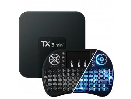 Zestaw TV Box T95Z (2GB RAM, 16GB eMMC, 8x2.0GHz, Android 6.0 Marshmallow) + Klawiatura Green Cell