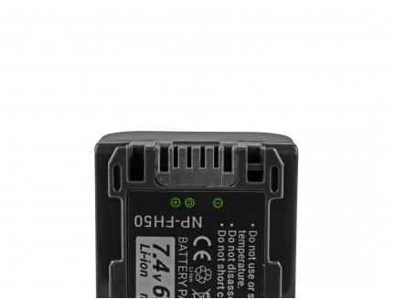 Bateria akumulator Green Cell do Sony DCR-HC45 DCR-SR300E DCR-SR70 DCR-SX50E 7.4V 1080mAh