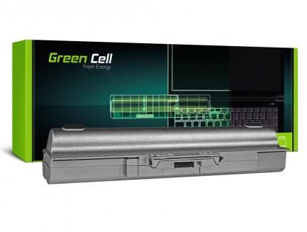Bateria akumulator Green Cell do laptopa Sony Vaio VGP-BPS13 VGP-BPL13 VGP-BPS13A/S 11.1V 9 cell SREBRNA