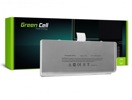 Bateria Green Cell A1280 do Apple MacBook 13 A1278 Aluminum Unibody (Late 2008)