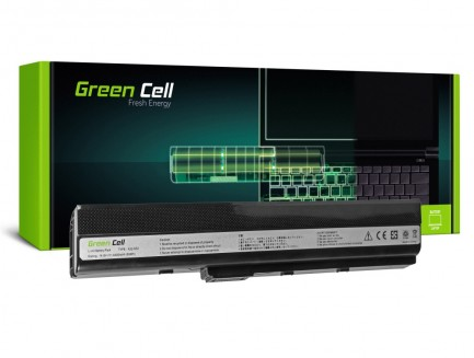 Bateria akumulator Green Cell do laptopa Asus K52JC K52F A52F K52J K52N K42F B53 N82 A32-K52 14.4V 8 cell