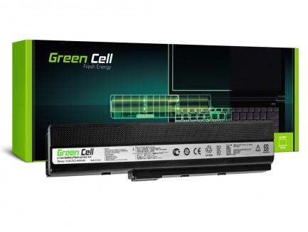Bateria Green Cell A32-K52 do Asus K52F K52J K52N K42F B53 N82 10.8V 6 cell