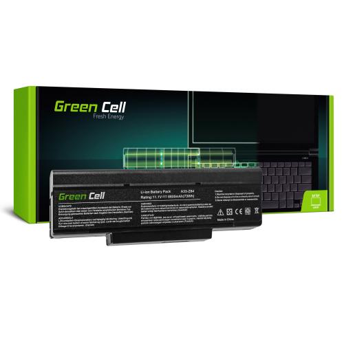Bateria Green Cell BTY-M66 M660NBAT-6 do Asus A9 X56 X56K Z53 Z53J Z53S PC CLUB EnPower ENP 630
