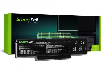 Bateria akumulator Green Cell do laptopa Asus A32-F3 A9 F2 F3SG F3SV X70 11.1V 6 cell
