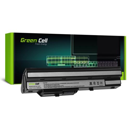 Bateria Green Cell BTY-S11 BTY-S12 do MSI Wind U90 U100 U110 U120 U130 U135 U135DX U200 U250 U270