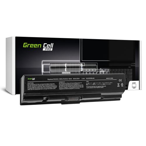 Bateria Green Cell PRO PA3534U-1BRS do Toshiba Satellite A200 A300 A350 L300 L500 L505
