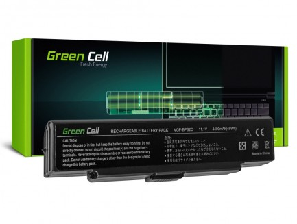 Bateria akumulator Green Cell do laptopa Sony Vaio VGP-BPS2 VGP-BPS2A 11.1V