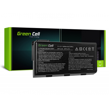 Green Cell ® Bateria do MSI CR610-C61M32-HDSB