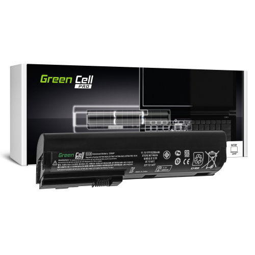 Bateria Green Cell PRO SX09 do HP EliteBook 2560p 2570p
