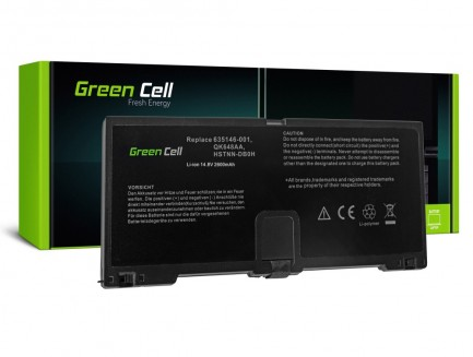 Bateria Green Cell HSTNN-DB0H do HP ProBook 5330m