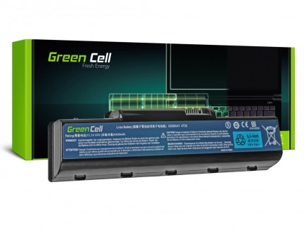 Bateria Green Cell AS09A31 AS09A41 AS09A51 do Acer Aspire 4732Z 5732Z 5532 TJ65 11.1V 6 cell