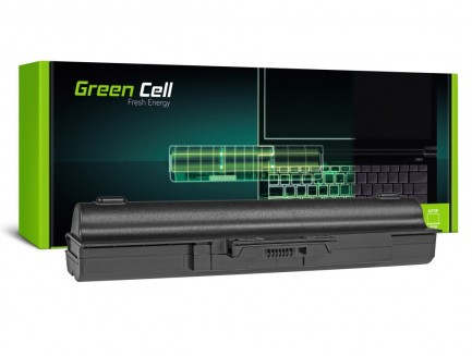 Bateria Green Cell VGP-BPS13 VGP-BPL13 do Sony Vaio VGP-BPS13A/S 11.1V 9 cell CZARNA