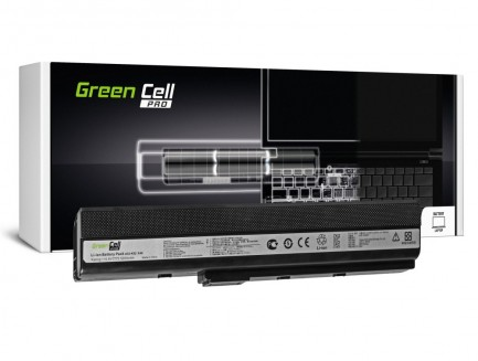 Bateria Green Cell do laptopa Asus K52F K52J K52N K42F B53 N82 A32-K52 10.8V 6 cell
