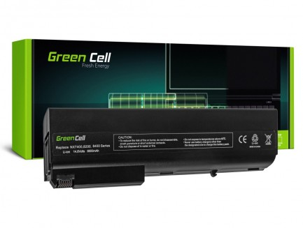 Bateria akumulator Green Cell do laptopa HP Compaq NC8230 NX7400 NW8440 8510P 8510W NC8200 14.4V 12 cell
