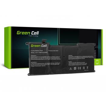 Bateria Green Cell C23-UX21 do Asus ZenBook UX21 UX21A UX21E UX21E-DH52