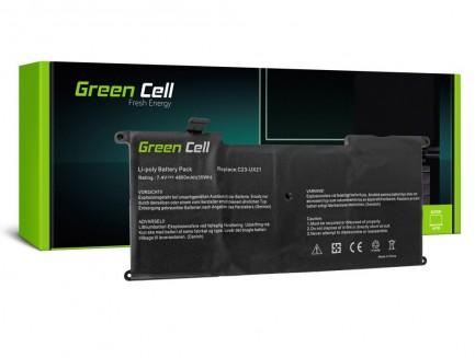 Bateria Green Cell C23-UX21 do Laptopa Asus ZenBook UX21 UX21A UX21E