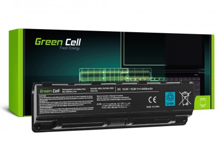 Bateria Green Cell PA5109U-1BRS do Toshiba Satellite C50 C50D C55 C55D C70 C75 L70 S70 S75
