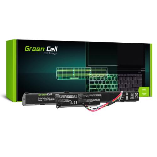 Bateria Green Cell A41-X550E do Asus A450 A550 F550 K550 R510 R510D R510DP X450 X550 X550D