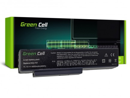 Bateria Green Cell SQU-701 do BenQ JoyBook A52 A53 A52E