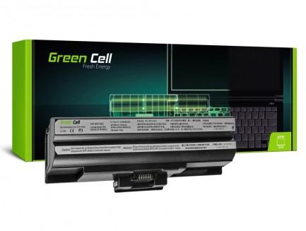 Bateria Green Cell VGP-BPS13 VGP-BPS21A VGP-BPS21B do Sony Vaio VGN-FW PCG-31311M 3C1M 81112M 81212M (Czarna)