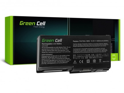 Bateria Green Cell PA3730U-1BRS do Toshiba Qosmio X500 X505, Toshiba Satellite P500 P505