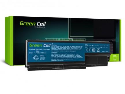 Bateria Green Cell AS07B31 AS07B41 AS07B61 do Acer Aspire 5930 7535 11.1V 6 cell