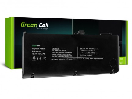 Bateria Green Cell A1321 do Apple MacBook Pro 15 A1286 (Mid 2009, Mid 2010)
