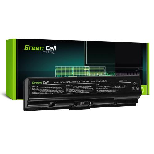Bateria Green Cell PA3534U-1BRS do Toshiba Satellite A200 A300 A350 L300 L500 L505
