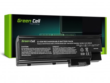 Bateria akumulator Green Cell do laptopa Acer Aspire 1650 3508 3509 3630 3660 Travelmate 4500 BTP-BCA1 14.4V 8 cell