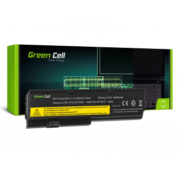 Bateria 42T4650 Green Cell do Lenovo ThinkPad X200 X201 X200s X201i