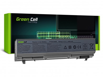Bateria Green Cell do Dell Latitude 6400ATG E6400 E6410 E6500 E6510 WG351 11.1V 6 cell