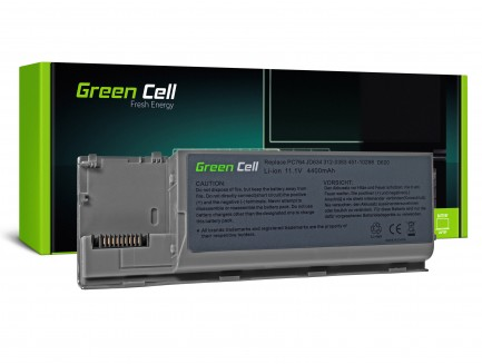 Bateria Green Cell PC764 JD634 do Dell Latitude D620 D630 D631 D620 ATG D630 ATG